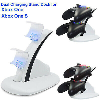 $10.97 • Buy LED Light Dual Charging Dock Station Charger For Xbox One /S/Elite Controller