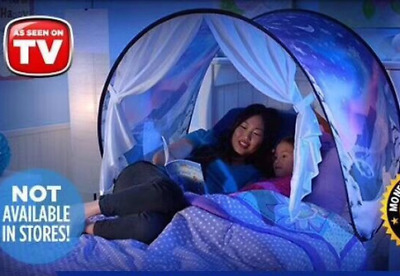 Kids Girls/Boy Bed Canopy Cot Tent On Over The Bed Mosquito Net DREAM TENTS @NEW • 16.98£
