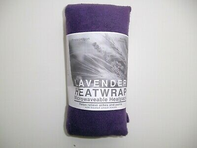 PURPLE FLEECE  Heat/Cool Pack.Microwaveable/Freezable. Lavender & Wheat Bag • 2.99£