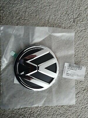 New Genuine Vw Touareg Mk2 Chrome Trunk Boot Lid Badge Emblem 7p6853630d • 32.50£
