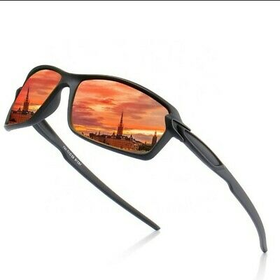 AU15.80 • Buy Mens Sunglasses Polarised Glasses Driving Sport Outdoor Fishing Beach Eyewear