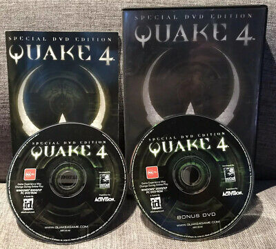 AU29.95 • Buy QUAKE 4 Special DVD Edition 2005 PC GAME VGC FAST FREE POST