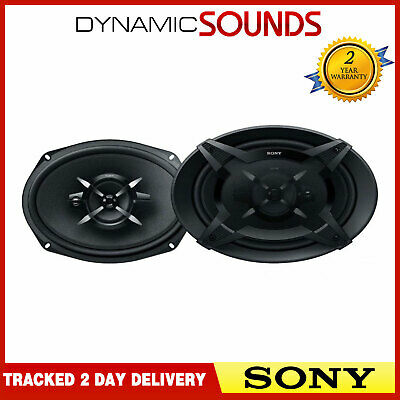 "Sony XS-FB6930 - 6x9"" 3-Way Coaxial Car Shelf Speakers 900W Total Power • 56.95£"