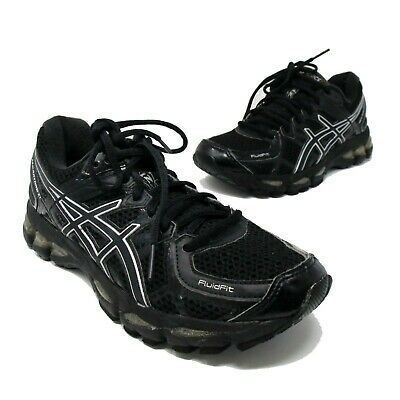 $57.50 • Buy Asics Gel-Kayano 17 IGS Black Sneakers Running Shoes Women's 6.5 T150N