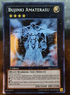 AU249.99 • Buy Yugioh Card - Bujinki Amaterasu *Ghost Rare* PRIO-EN052 (NM)