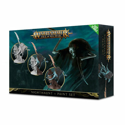 Games Workshop - Age Of Sigmar: Nighthaunt + Paint Set - 99170207001 - 60-09-60 • 21.85£