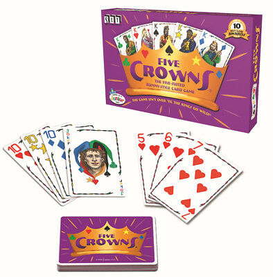 AU19.99 • Buy 5 Crowns Card Game Five Suites Classic Original Family (4001) Rummy Style Play