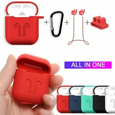 $ CDN8.64 • Buy 6 In 1 Silicone Protective Accessories Set For AirPods **UK FAST POST**