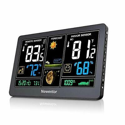 $62.71 • Buy Weather Station, Wireless Digital Indoor Outdoor Thermometer Weather Forecast