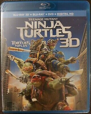 $ CDN14 • Buy Teenage Mutant Ninja Turtles 3D Sealed