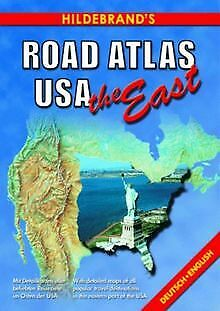 Hildebrand's Road Atlas USA, The East (USA & Can... | Book | Condition Very Good • 6.18£