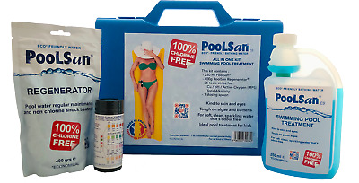 PoolSan Non-Chlorine Chemical Maintenance Kit For Above-ground Pools  • 29.99£
