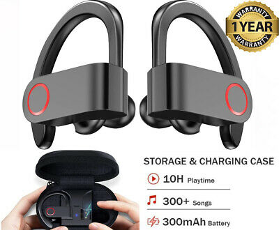 $19.99 • Buy Bluetooth Headphones Wireless 5.0 Sports Waterproof Earbuds With Charging Case