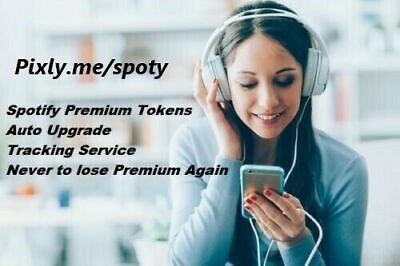 AU9.50 • Buy Spotify Premium Tokens 1 Year 12 Months Auto Upgrade Worldwide Instant Delivery