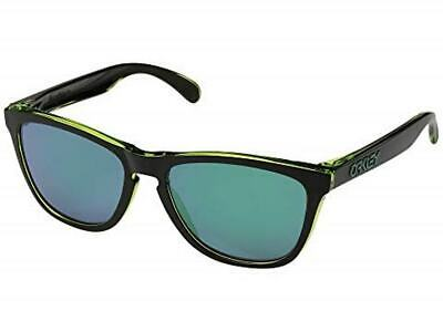 $83.88 • Buy NWT Oakley Eclipse Collection Frogskins Eclipse Green/Jade Iridium 9013A8