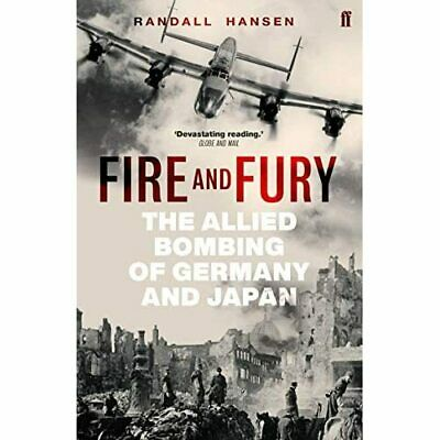 AU25.58 • Buy Fire And Fury: The Allied Bombing Of Germany And Japan - Paperback / Softback NE