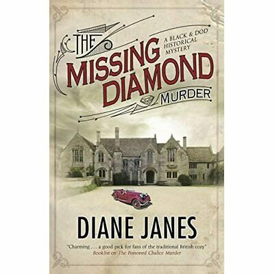 The Missing Diamond Murder (A Black & Dod Mystery) - Hardback NEW Janes, Diane 3 • 21.61£