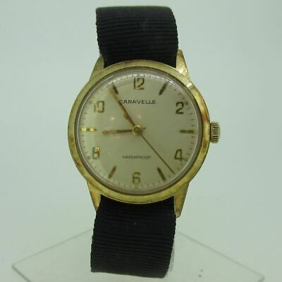 $ CDN38.67 • Buy Vintage Caravelle M3 11OAC 7J Swiss Gold Tone And Stainless Steel Watch Parts