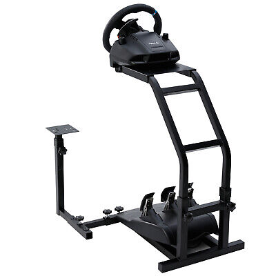Racing Steering Wheel Stand  Simulator Gt Gaming Fit Ps4 Logitech G29 G920 T300s • 44.99£