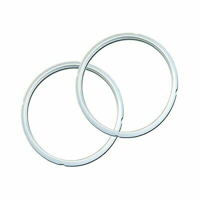 $12.30 • Buy Genuine Instant Pot Sealing Ring 2 Pack Clear 8 Quart