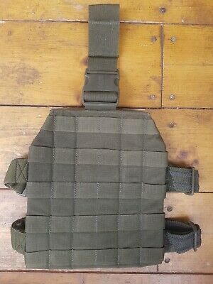 BLACKHAWK STRIKE DROP LEG PANEL - Olive - Grade 1 - Genuine - Molle Type • 14.49£
