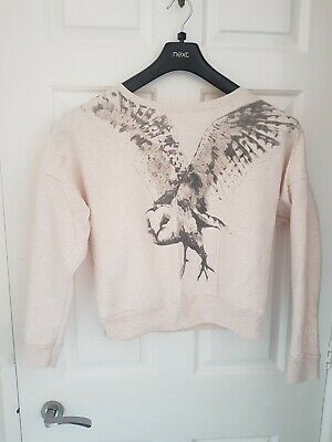 Womens Light Summer Jumper Owl • 4£