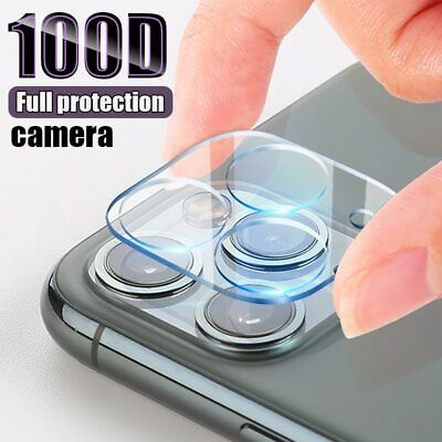 9H Tempered Glass Camera Lens Protector Cover HD Film For IPhone 11/11 Pro MAX • 2.95£