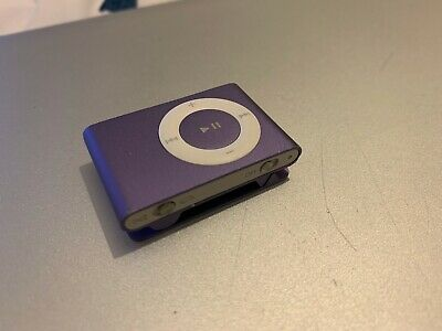 Apple IPod Shuffle 2nd Generation Purple (1 GB) - Brand New Battery • 30£