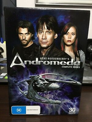 Andromeda Series Complete Season 1-5 (1,2,3,4 & 5) New Not Sealed Dvd  Box Set   • 60.44£