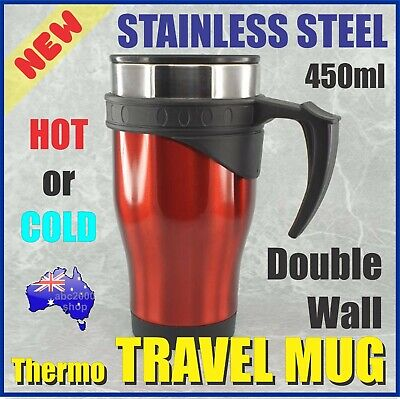AU18 • Buy Insulated Interior Stainless Steel Cup Car Travel Coffee Mug