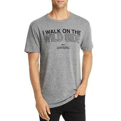 $3.59 • Buy Chaser Mens Walk On The Wild Side Graphic Heathered Slogan T-Shirt BHFO 7571