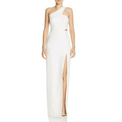 $26.34 • Buy Aidan By Aidan Mattox Womens Ivory Cut-Out Evening Formal Dress Gown 2 BHFO 2061