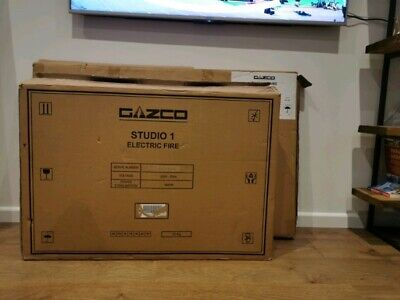 Gazco Studio 1 Electric Fire *New* • 325£