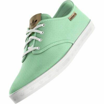 Adidas Adria Shoes Trainers Green Ladies Textile New • 35.35£