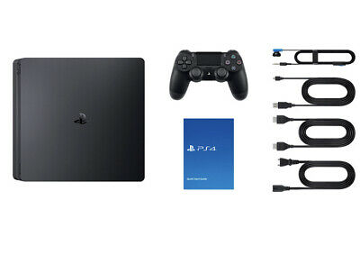 AU639.99 • Buy SONY PS4 SLIM 500GB PLAYSTATION 4 ~ Console + Cables + Controller