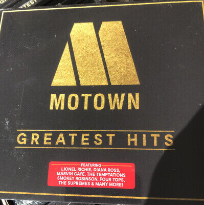 Motown Greatest Hits New Sealed 3cd Digipak Marvin Gaye Lionel Richie 4 Tops • 3.99£