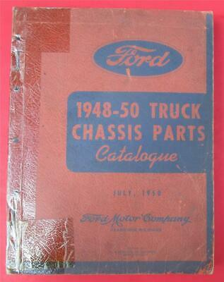 $32.99 • Buy 1948 1949 1950 Ford Truck Chassis Parts Catalog Manual Book  R1742