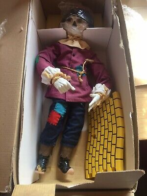 £50 • Buy Scarecrow Wizard Of Oz The Ashton Drake Galleries CollectIon Brand New In Box