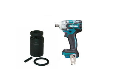 Makita 18V DTW285Z Impact Wrench + Makita 134833-2 1/2  Sq  21mm Impact Socket  • 153£