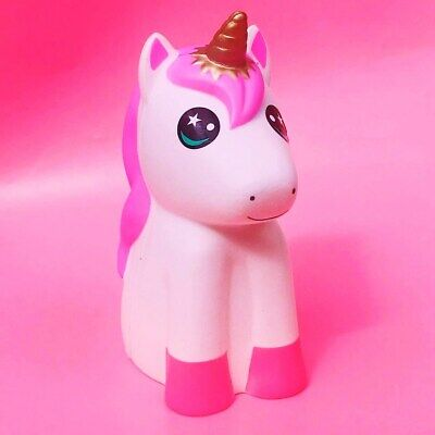 AU45.25 • Buy GIANT Kawaii Unicorn Squishy Huge Jumbo Slow Rising Girly Pink White Jumbo 25cm