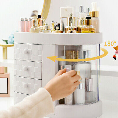 £15.95 • Buy Cosmetic Makeup Case Dressing Table Storage Organizer Free Stand Display Case