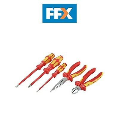 Knipex 43692 5pc VDE Approved Fully Insulated Screwdriver And Plier Set • 153.50£