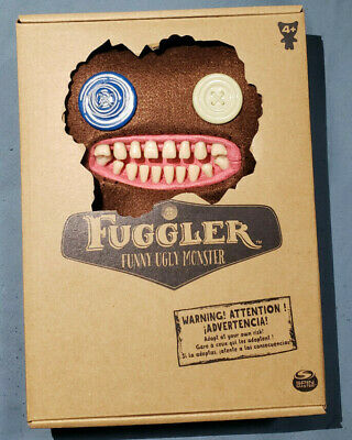 $ CDN13.50 • Buy Fuggler! Its Mr. Buttons In Brown 9  Tall. Cute Monster Plushie Toy