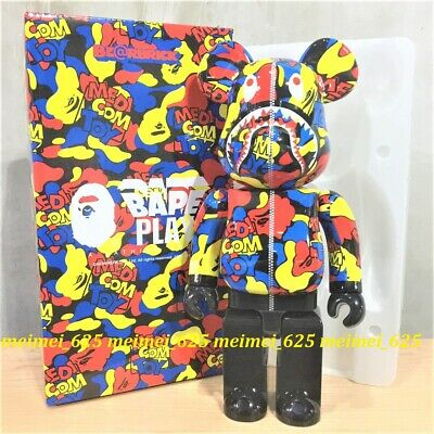 $488.88 • Buy Bearbrick Medicom Toy Exhibition 2019 A Bathing Ape Camo Shark 400% Bape