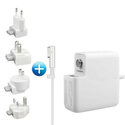 $25.99 • Buy 60W L-Tip Charger Replacement With EU US UK AU 4x Plugs For Mac Book Pro 13 Inch