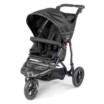 £289 • Buy Out N About GT Single Baby Pushchair (Raven Black) - Suitable From Birth
