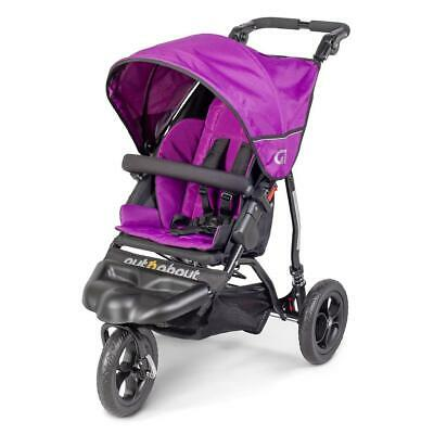 £289 • Buy Out N About GT Single Baby Pushchair (Purple Punch) - Suitable From Birth