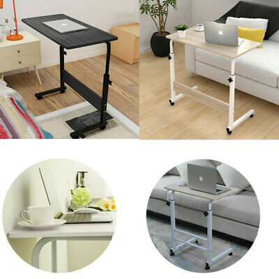 Adjustable Portable Laptop Table Stand Lap Sofa Bed Tray Folding Computer Desk • 18.99£