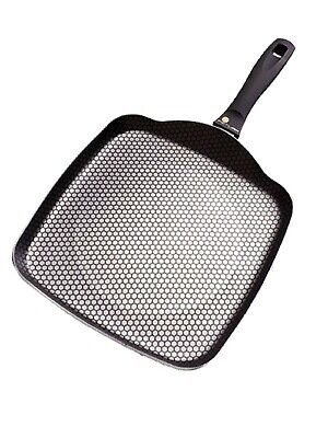 High Quality Frying Pan Square Non Stick For Omelette Egg Pancakes 28x28cm • 14.99£