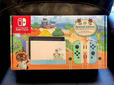 $ CDN986.74 • Buy Nintendo Switch Animal Crossing Special Edition Console Brand NEW Minty Box USA